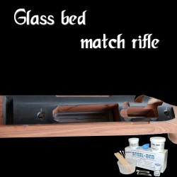 Faire glasss bed macht rifle